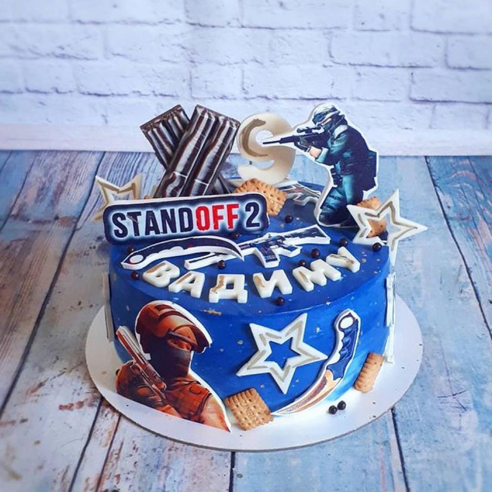 Торт Standoff 2 на 11 лет