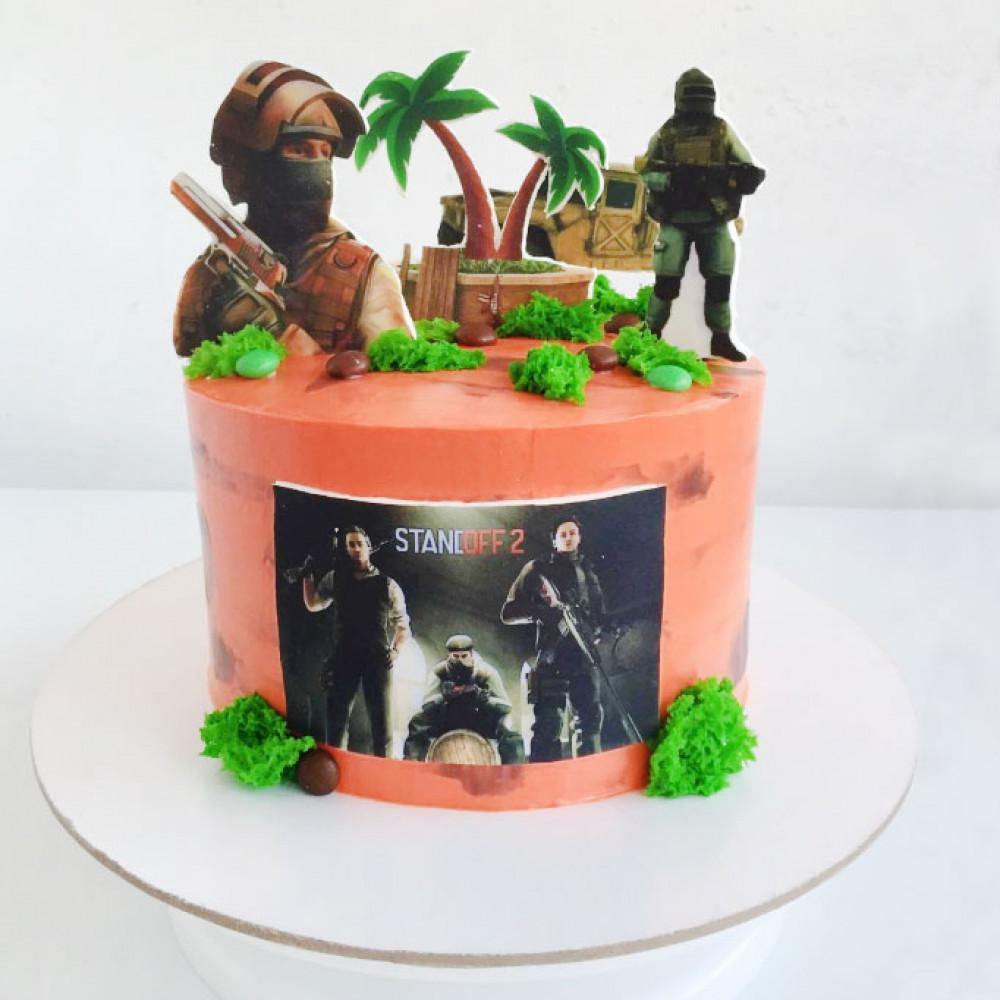 Торт в стиле игры Standoff 2