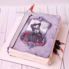 Торт книга Ведьмак