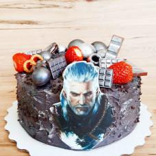 Торт Ведьмак на день рождения