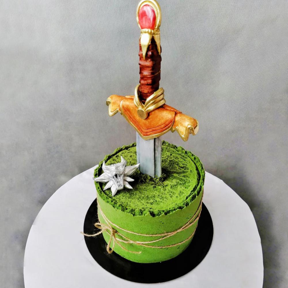 Торт меч Ведьмака