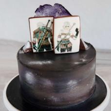 Торт Ведьмак и Цирилла