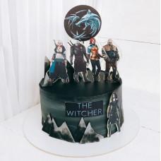 Торт по сериалу Ведьмак