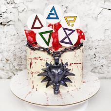 Торт в стиле Ведьмака