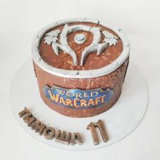 Торт любителю игры Warcraft