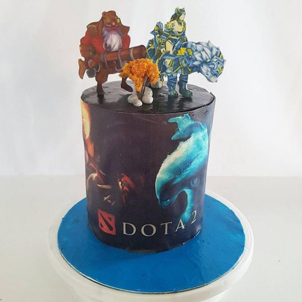 Торт Варкрафт для мальчика