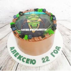 Торт Варкрафт на день рождения