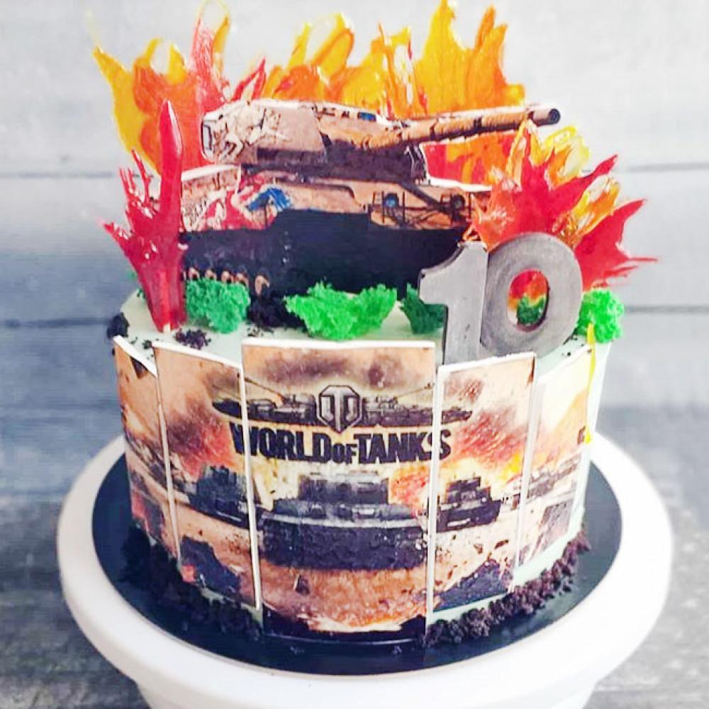 Торт WOT