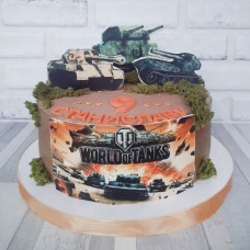 Торт по игре танки World of Tanks