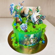 Торт по игре The Legend of Zelda
