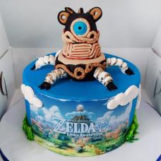 Торт по мотивам игры Зельда