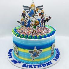 Торт Зельда на 10 лет