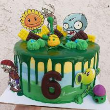 Торт Зомби ферма