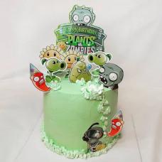Торт с Зомби фермой