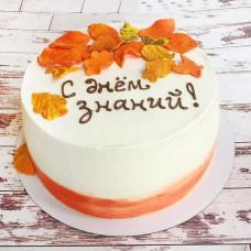 Торт на первое сентября