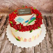 Торт на 1 сентября с пряниками