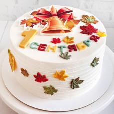 Торт на 1 сентября из крема