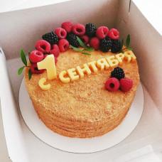 Медовый торт на 1 сентября 6 класс
