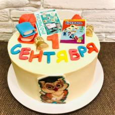 Торт на 1 сентября 3 класс
