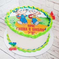 Торт на 1 сентября 2 класс