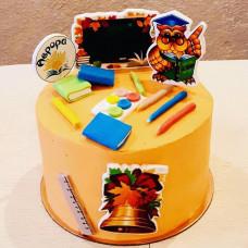 Детский торт на 1 сентября