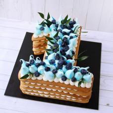 Торт на годик единичка