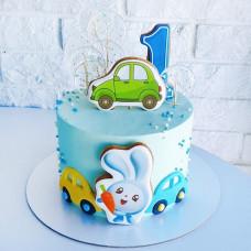 Торт машинка на годик