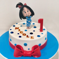 Прикольный торт на 1 год