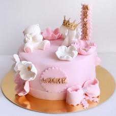 Торт на 2 месяца девочке