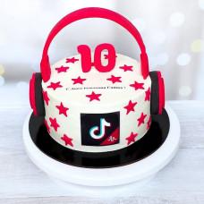 Торт дочке 10 лет
