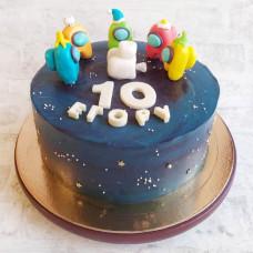 Торт Амонг Ас 10 лет