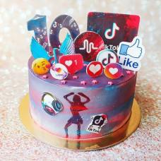 Красивый торт на 10 лет