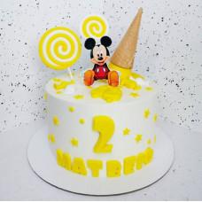 Торт ребенку на 2 года