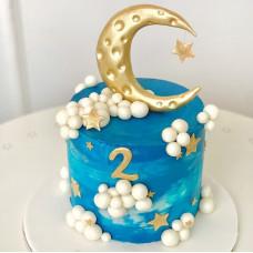 Торт на 2 годика мальчику