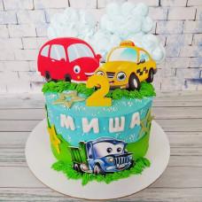 Торт на второй день рождения