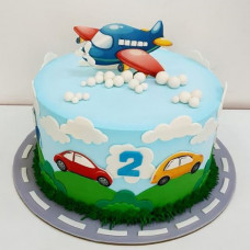 Детский торт на 2 года