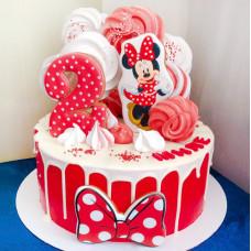 Торт Минни Маус 2 года