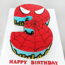Торт на 3 года Человек Паук