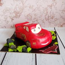 3D торт Мак Куин для мальчика на 3 годика