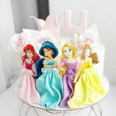 Торт на 4 года дочке