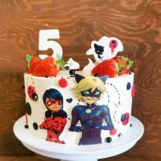Торт на 5 лет девочке