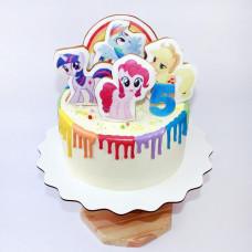 Торт пони 5 лет