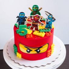 Торт Лего для мальчика 5 лет