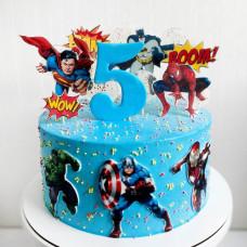Торт сыну на 5 лет