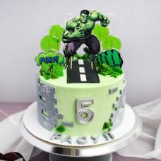 Торт Халк 5 лет