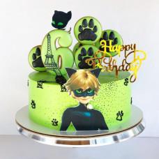 Торт Леди Баг 6 лет