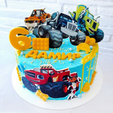 Торт машинки 6 лет