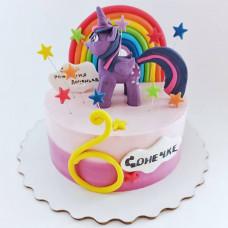 Торт Пони Искорка на 6 лет