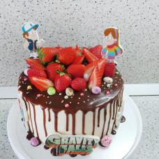 Торт без мастики 6 лет
