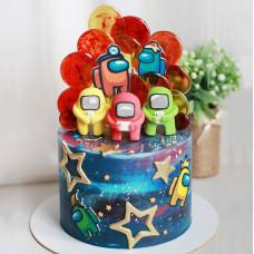 Торт на день рождения 7 лет